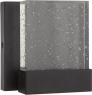 Craftmade ZA1200-TB-LED Aria II Modern Textured Matte Black LED Outdoor Wall Light Sconce