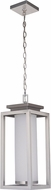 Craftmade ZA1321-SS-LED Vailridge Stainless Steel LED Outdoor Pendant Lighting Fixture