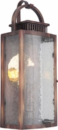 Craftmade ZA1502-WC-LED Hearth Traditional Weathered Copper LED Exterior 6  Wall Sconce Light