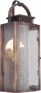 Craftmade ZA1502-WC-LED Hearth Traditional Weathered Copper LED Outdoor 16 Wall Light Fixture