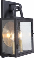 Craftmade ZA1612-TB Wolford Traditional Textured Matte Black Exterior 10  Sconce Lighting