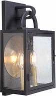 Craftmade ZA1612-TB Wolford Traditional Textured Matte Black Outdoor 10 Wall Mounted Lamp