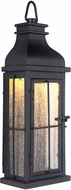Craftmade ZA1802-MN-LED Vincent Traditional Midnight LED Outdoor Lamp Sconce