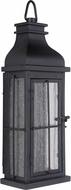 Craftmade ZA1802-MN-LED Vincent Midnight LED Exterior Wall Light Sconce