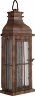 Craftmade ZA1802-WC-LED Vincent Weathered Copper LED Outdoor Wall Sconce Light