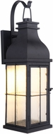 Craftmade ZA1804-MN-LED Vincent Traditional Midnight LED Outdoor Wall Light Fixture