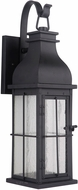 Craftmade ZA1814-MN-LED Vincent Traditional Midnight LED Outdoor Wall Lighting Sconce