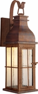 Craftmade ZA1814-WC-LED Vincent Traditional Weathered Copper LED Exterior Wall Sconce Lighting