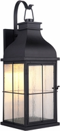 Craftmade ZA1824-MN-LED Vincent Traditional Midnight LED Outdoor Wall Mounted Lamp
