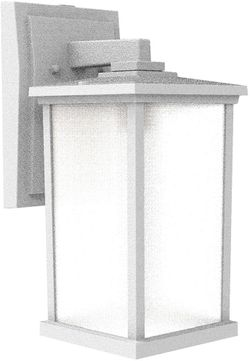 Craftmade ZA2414-TW Composite Lanterns Textured White Outdoor 15' Wall Light Sconce