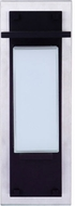Craftmade ZA2502-SSMN-LED Heights Contemporary Stainless Steel/Midnight LED Exterior 15 Wall Lighting