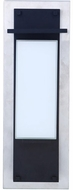 Craftmade ZA2522-SSMN-LED Heights Modern Stainless Steel/Midnight LED Exterior 24 Lamp Sconce