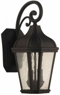 Craftmade ZA3014-TB Briarwick Traditional Textured Matte Black Outdoor 15 Lighting Wall Sconce