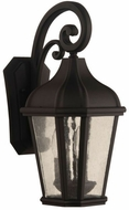 Craftmade ZA3024-TB Briarwick Traditional Textured Matte Black Outdoor 19 Wall Sconce Lighting