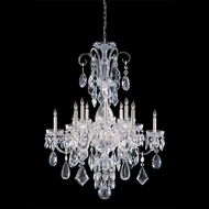 Crystorama 1045-CH-CL-MWP Traditional Crystal Polished Chrome Chandelier Light