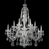 Crystorama 1114-CH-CL-MWP Polished Chrome Lighting Chandelier