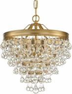 Crystorama 130-VG Calypso Vibrant Gold Pendant Lighting