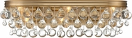 Crystorama 133-VG Calypso Vibrant Gold 23  Bathroom Lighting