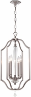 Crystorama 2235-PW Hugo Pewter Foyer Lighting