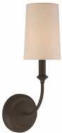 Crystorama 2241-DB Sylvan Dark Bronze Wall Lighting