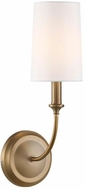 Crystorama 2241-VG Sylvan Vibrant Gold Light Sconce