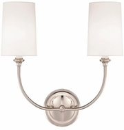 Crystorama 2242-PN Sylvan Polished Nickel Wall Sconce Lighting