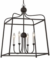 Crystorama 2244-DB-NOSHADE Sylvan Dark Bronze 21.5  Foyer Lighting