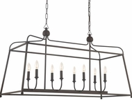 Crystorama 2249-DB-NOSHADE Sylvan Dark Bronze Island Lighting