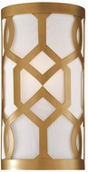 Crystorama 2262-AG Jennings Aged Brass Lighting Sconce