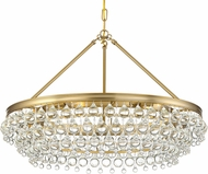Crystorama 275-VG Calypso Vibrant Gold Hanging Pendant Lighting