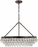 Crystorama 275-VZ Calypso Vibrant Bronze Chandelier Light