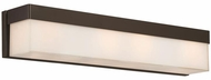 Crystorama 294-DB Grayson Modern Dark Bronze Bathroom Lighting