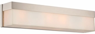 Crystorama 294-PN Grayson Modern Polished Nickel Lighting For Bathroom