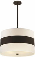 Crystorama 297-DB Grayson Contemporary Dark Bronze 23  Drop Ceiling Light Fixture