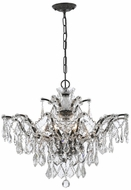 Crystorama 4459-VZ-CL-MWP Filmore Vibrant Bronze Chandelier Light