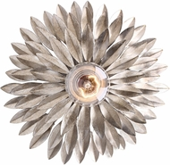 Crystorama 500-SA Broche Antique Silver Wall Sconce Light