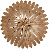 Crystorama 505-GA-WALL Broche Antique Gold Wall Lighting