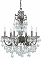 Crystorama 5196-EB-CL-S Legacy English Bronze 23  Chandelier Light