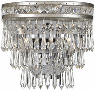 Crystorama 5261-OS-CL-MWP Mercer Olde Silver Lighting Wall Sconce