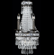Crystorama 5262-EB-CL-MWP Mercer 10 inch crystal wall sconce in English bronze finish