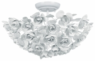 Crystorama 530WW Cypress Modern Semi-Flush Mount Overhead Lighting