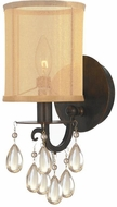 Crystorama 5621-EB Hampton English Bronze Wall Sconce Lighting