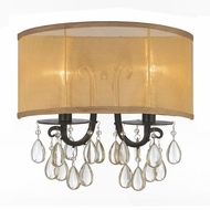 Crystorama 5622-EB Hampton English Bronze Lighting Wall Sconce