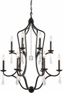 Crystorama 5978-EB Manning English Bronze 30  Lighting Chandelier