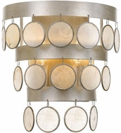Crystorama 6002-SA Coco Antique Silver Wall Sconce Light