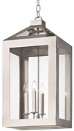 Crystorama 6054-PN Hurley Polished Nickel Entryway Light Fixture
