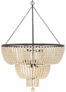 Crystorama 612-FB Rylee Forged Bronze 32 Ceiling Chandelier