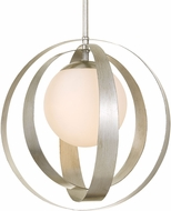 Crystorama 6469-SA Arlo Contemporary Antique Silver 21  Pendant Lamp