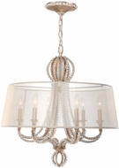 Crystorama 6767-DT Garland Distressed Twilight Ceiling Chandelier