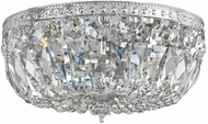 Crystorama 716-CH-CL-S Ceiling Mount Polished Chrome 16 Ceiling Light Fixture